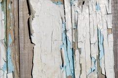 Textura de la madera con exfoliated Foto de archivo