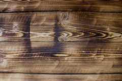 Textura de la madera quemada Imagen de archivo