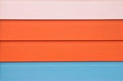 Textura de la madera tricolor Foto de archivo