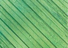 Textura de la madera verde vieja Foto de archivo