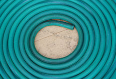 Textura de la manguera del agua Fotografía de archivo libre de regalías