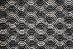Textura de la manta de la materia textil con el modelo foto de archivo libre de regalías