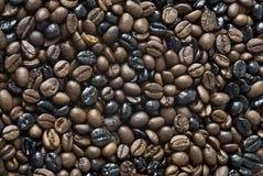 Textura de la mezcla del café. fotografía de archivo