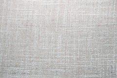 Textura de la mezcla del lino y del algodón Fotografía de archivo