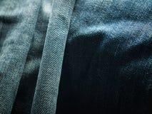 Textura de la mezclilla Foto de archivo