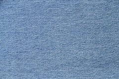 Textura de la mezclilla azul Imágenes de archivo libres de regalías
