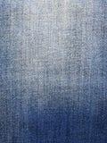 Textura de la mezclilla del dril de algodón foto de archivo