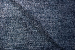 Textura de la mezclilla del dril de algodón Imágenes de archivo libres de regalías