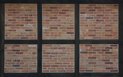 Textura de la Mitad-madera Imagen de archivo libre de regalías