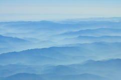 Textura de la montaña Fotografía de archivo
