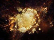 Textura de la nebulosa Imágenes de archivo libres de regalías