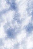 Textura de la nieve Imagen de archivo libre de regalías