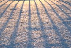 Textura de la nieve Imágenes de archivo libres de regalías
