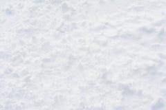 Textura de la nieve Fotos de archivo libres de regalías