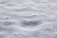 Textura de la nieve. Imagen de archivo