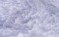 Textura de la nieve Fotografía de archivo libre de regalías