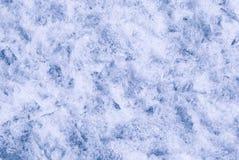 Textura de la nieve del hielo Foto de archivo libre de regalías