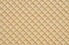 Textura de la oblea fotografía de archivo