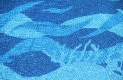 Textura de la onda de la piscina Imagenes de archivo