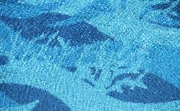 Textura de la onda de la piscina Foto de archivo libre de regalías