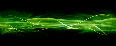 Textura de la onda, verde