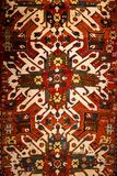Textura de la opinión del modelo de la manta en meseum de la alfombra fotografía de archivo libre de regalías