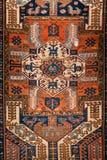 Textura de la opinión del modelo de la manta en meseum de la alfombra foto de archivo libre de regalías