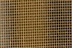 Textura de la pantalla de alambre del mosquito Foto de archivo