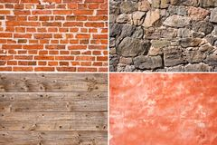 Textura de la pared Foto de archivo