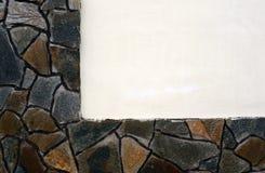 Textura de la pared como enmarcando Imágenes de archivo libres de regalías