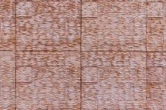 Textura de la pared de Brown fotografía de archivo libre de regalías