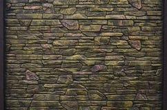 Textura de la pared de la roca Fotos de archivo