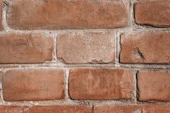 Textura de la pared de ladrillo de Brown Imagen de archivo libre de regalías
