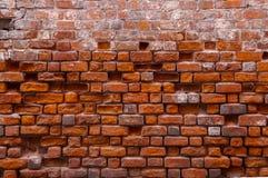 Textura de la pared de ladrillo roja foto de archivo libre de regalías