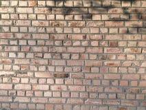 Textura de la pared de ladrillos rojos Imágenes de archivo libres de regalías