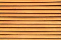 Textura de la pared de madera marrón del listón para el fondo Foto de archivo