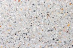 Textura de la pared de piedra, fondo del piso del terrazo foto de archivo libre de regalías