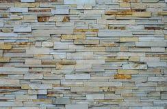 Textura de la pared de piedras plana áspera Imagen de archivo libre de regalías