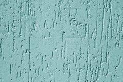 Textura de la pared del cemento de Grugy en color ciánico fotos de archivo