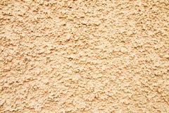 Textura de la pared en crema imágenes de archivo libres de regalías