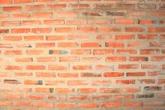 textura de la pared de ladrillo Pared de ladrillo anaranjada de la casa para el fondo o la textura foto de archivo
