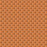 Textura de la pared de ladrillo de Brown para el fondo Imagen de archivo