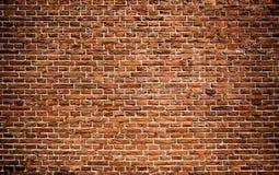 Textura de la pared de ladrillos rojos Foto de archivo libre de regalías