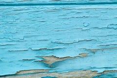Textura de la pared de madera pintada vieja Foto de archivo