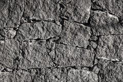 Textura de la pared negra de la roca volcánica de Lanzarote, canario I Imagen de archivo