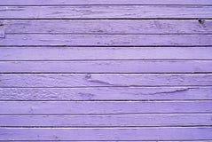 Textura de la pared púrpura del tablón de la pintura del color para el fondo Fotografía de archivo libre de regalías