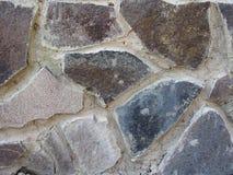 Textura de la pared de piedra fotografía de archivo libre de regalías