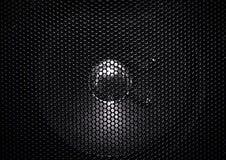 Textura de la parrilla del altavoz Fotos de archivo libres de regalías
