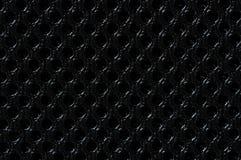 Textura de la parrilla del poliester Fotos de archivo libres de regalías