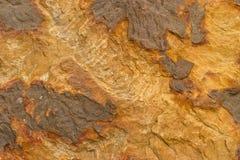 Textura de la piedra arenisca amarilla Fotos de archivo libres de regalías